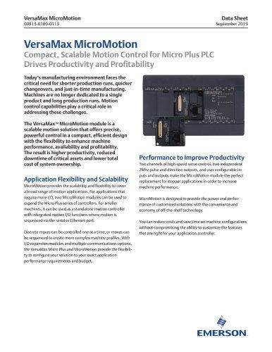 VersaMax MicroMotion