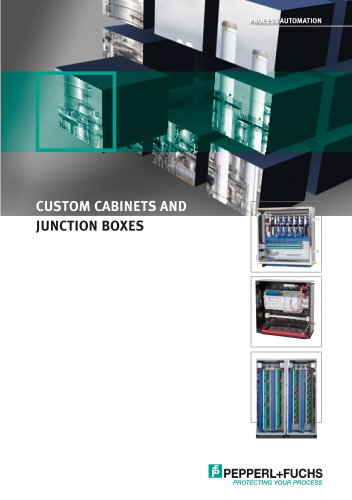 Custom Cabinets and Junction Boxes (USA-English) / Produktinformation