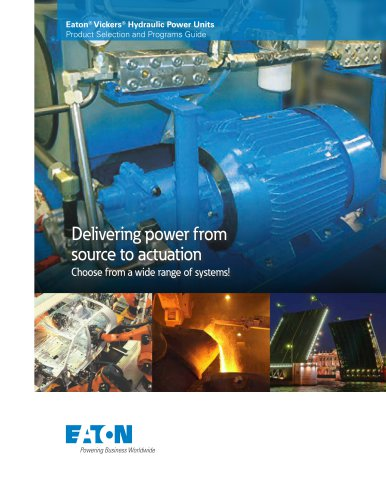Eaton® Vickers® Hydraulic Power Units