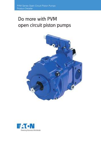 PVM Open Circuit Piston Pumps