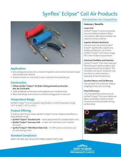 Synflex® Eclipse™ Coil Air Products
