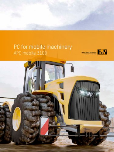 PC for mobile machinery APC mobile 3100