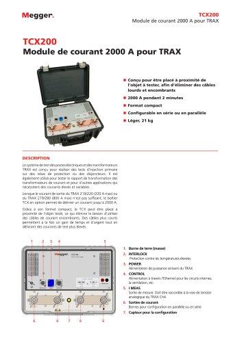 Module de courant 2000 A - TCX200