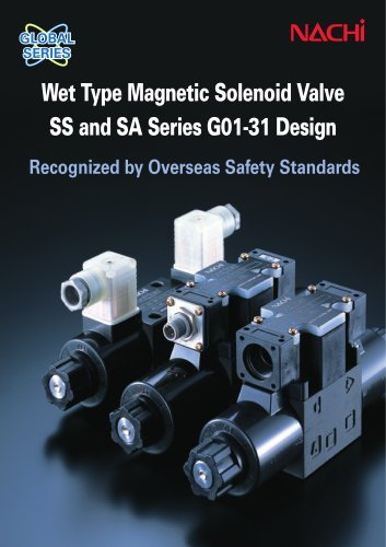 Wet Type Magnetic Solenoid Valve SS and SA Series G01-31 Design