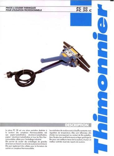 PC30 - Pinces portables