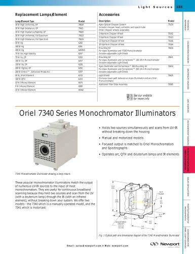 7340 Series Monochromator Illuminators