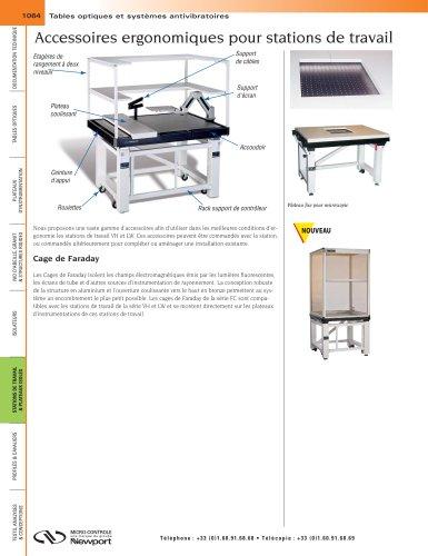 Accessoires ergonomiques pour stations de travail