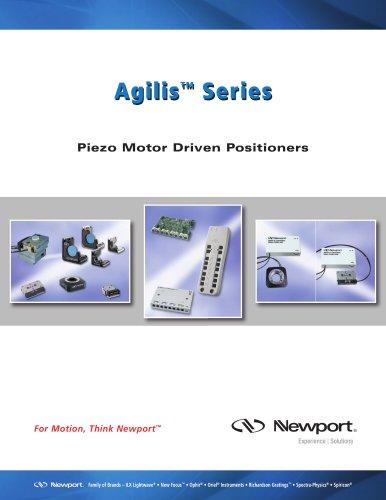 Agilis™ Series Piezo Motor Driven Positioners