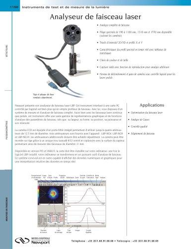 Analyseur de faisceau laser