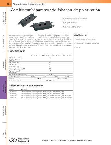 Combineur/séparateur de faisceau de polarisation