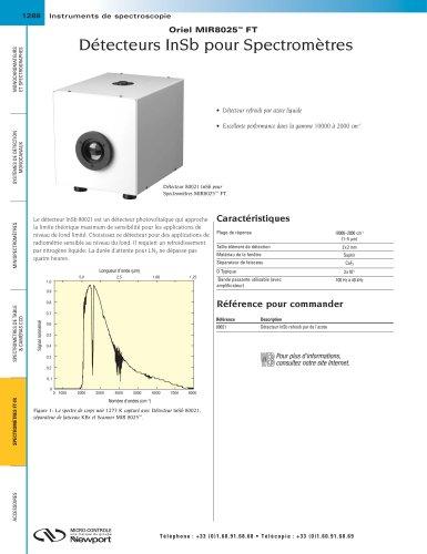 Détecteurs InSb pour Spectromètres Oriel MIR8025 FT