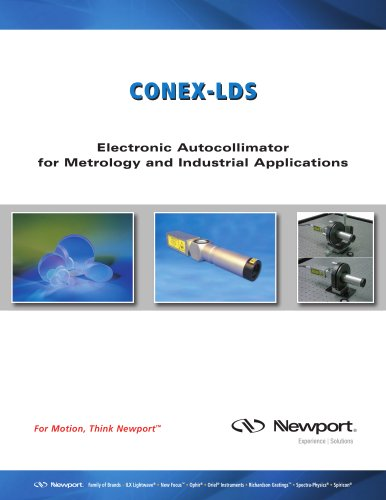 Electronic Autocollimator CONEX-LDS