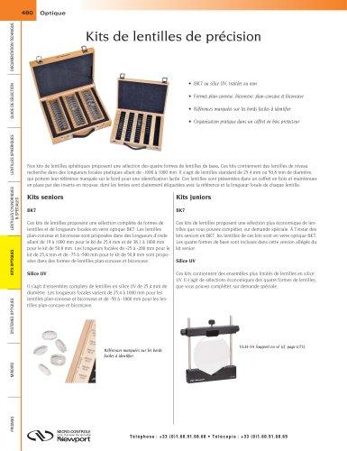 Kits de lentilles de précision