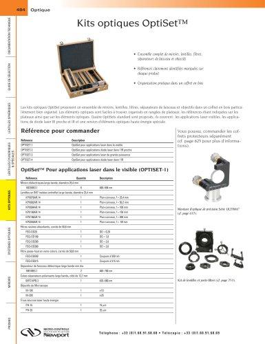 Kits optiques OptiSet™