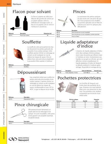 Liquide adaptateur d'indice