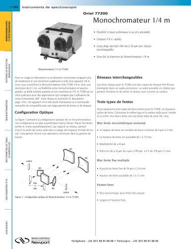 Monochromateur 1/4m Oriel 77200
