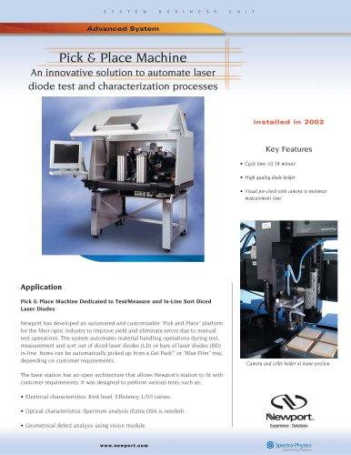 Pick & Place Machine