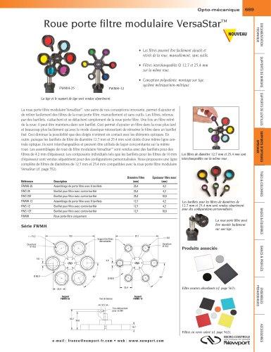 Roue porte filtre modulaire VersaStar™