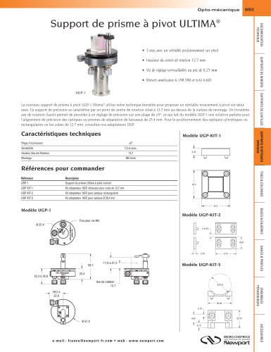 Support de prisme à pivot ULTIMA®