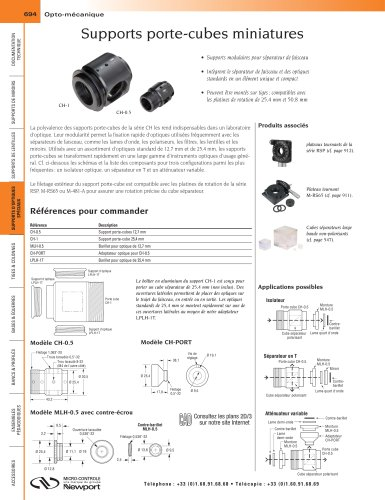 Supports porte-cubes miniatures