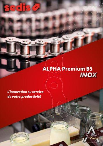 Gamme Alpha Premium BS INOX