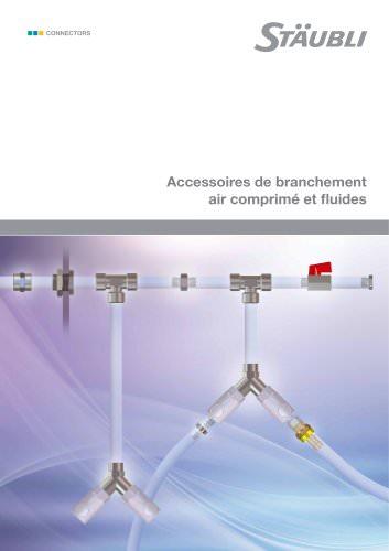 Accessoires de branchement air comprimé et fluides