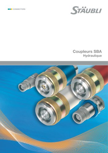 Coupleurs SBA Hydraulique