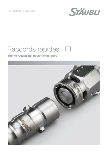 HTI Raccords rapides - Thermorégulation