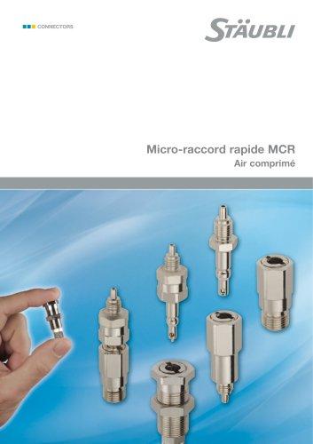 Micro-raccord rapide MCR