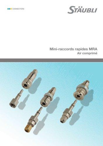 MRA  Mini-raccords rapides
