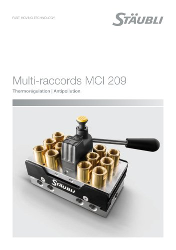 Multi-raccords MCI 209 Thermorégulation