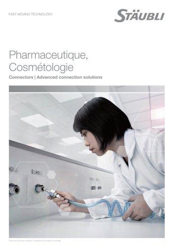 Pharmacie, biotechnologie, cosmétologie Connexion des lignes de fluides