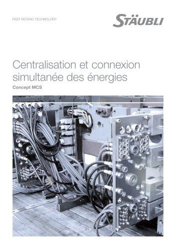Programme multi-connexions MCS pour systèmes modulaires