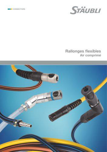 Rallonges flexibles Air comprimé