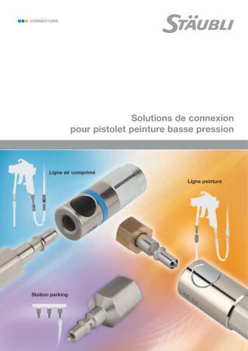 Solutions de connexion pour pistolet basse pression