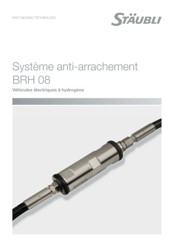 Système anti-arrachement BRH 08 - Véhicules électriques à hydrogène