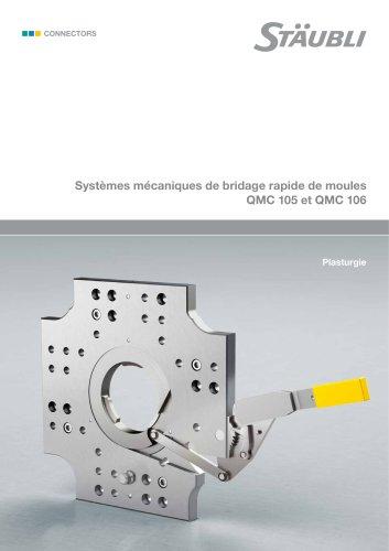 Systèmes mécaniques de bridage rapide de moules QMC 105 et QMC 106