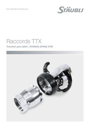 Transfert gros débit - STANAG OTAN - Raccords TTX