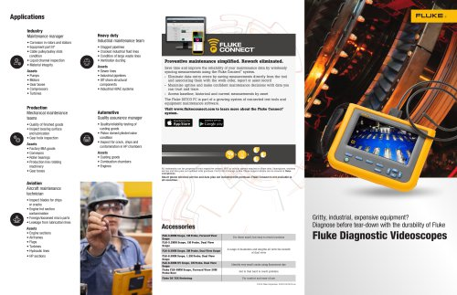 DS701 and DS703 FC Product Brochure