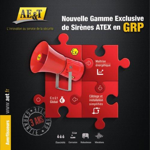 Brochure Nouvelle Gamme de Sirènes ATEX SIL2 GRP