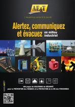 Catalogue AE&T 2014: Alertez, communiquez et évacuez en milieu industriel