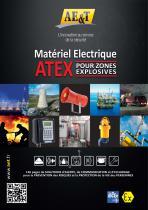 Catalogue ATEX AE&T : Matériel électrique ATEX pour zones explosives