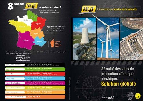 Sécurité des sites de production d'énergie électrique