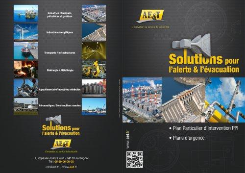 Solutions pour l'alerte et l'évacuation - PPI