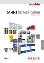GAMME DE FABRICATION