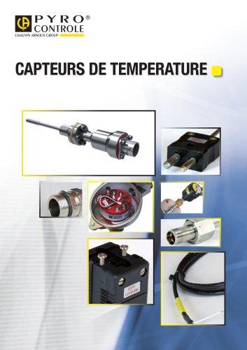 Catalogue Capteurs de température 2013