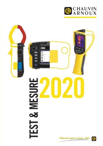 Catalogue CHAUVIN ARNOUX 2020