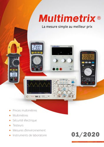 Catalogue Multimetrix 2020