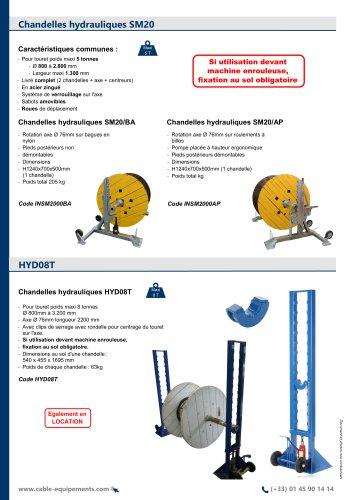 Chandelles hydrauliques SM20