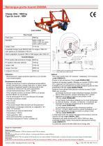 Remorque porte-touret S5000A